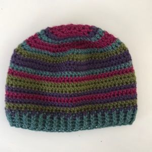 Adult unisex crochet hat